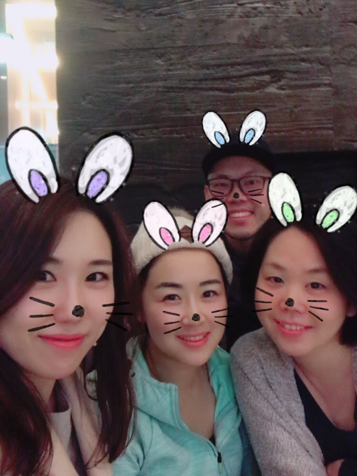 Having fun times with Wife's friends